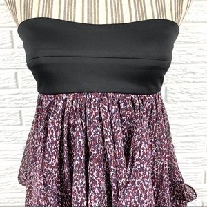 MM Couture Tops - MM Couture by Miss Me Floral Strapless Tunic